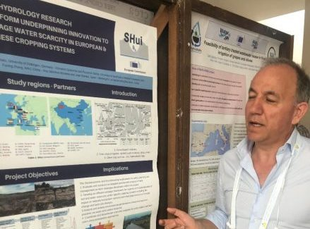 SHui project at the IX International Symposium on Irrigation of Horticultural Crops, Matera (Italy) 17-20 June 2019