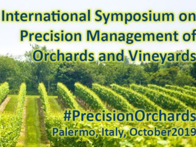 ISHS International symposium on precision management of orchards and vineyards, Palermo (Italy)