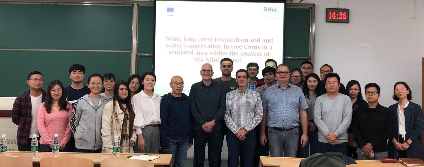 SHui seminar in Beijing Forestry University (BFU)