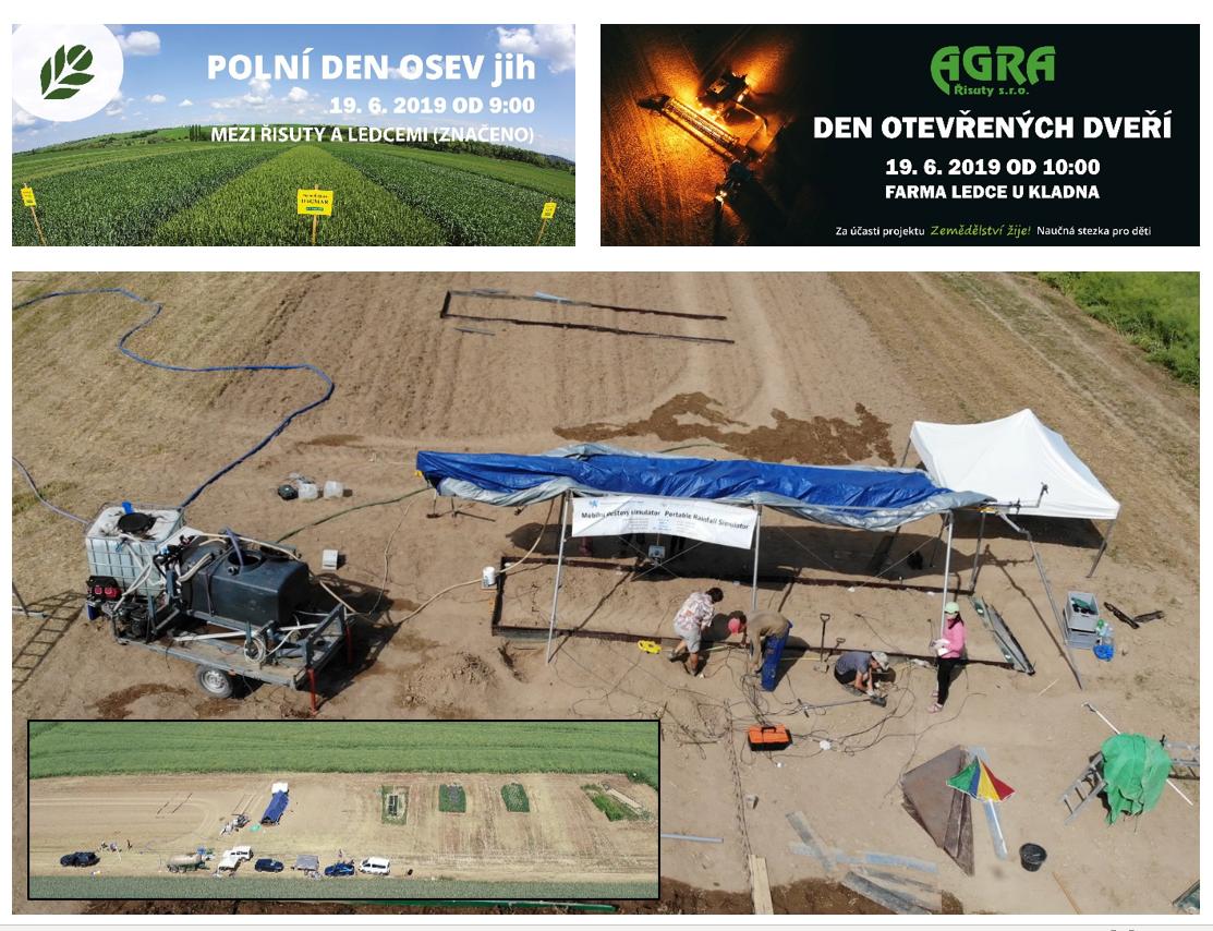 Polní den/Field day – Czech Republic