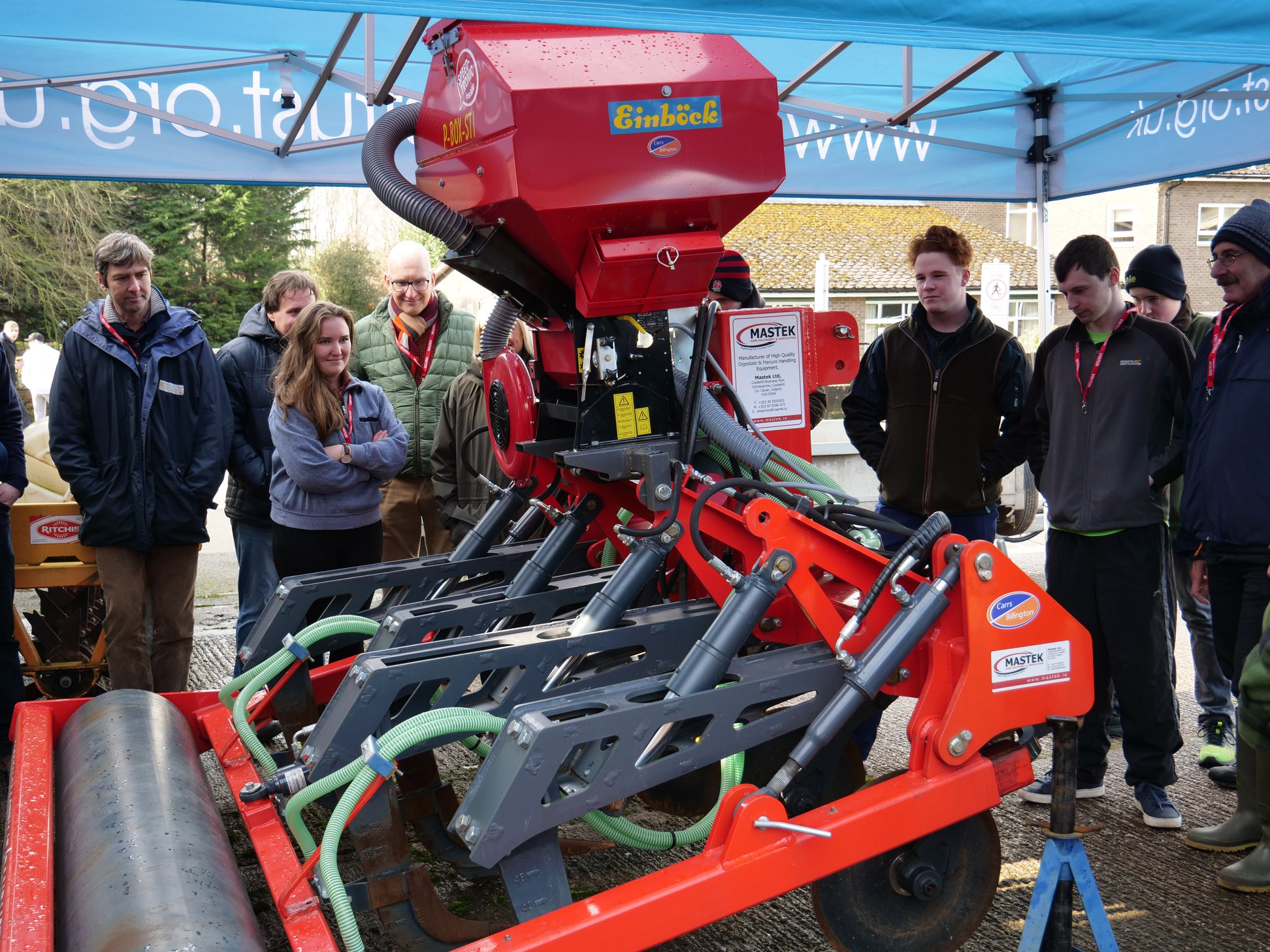 Sward lifter available for farmers in the Eden river catchment, UK