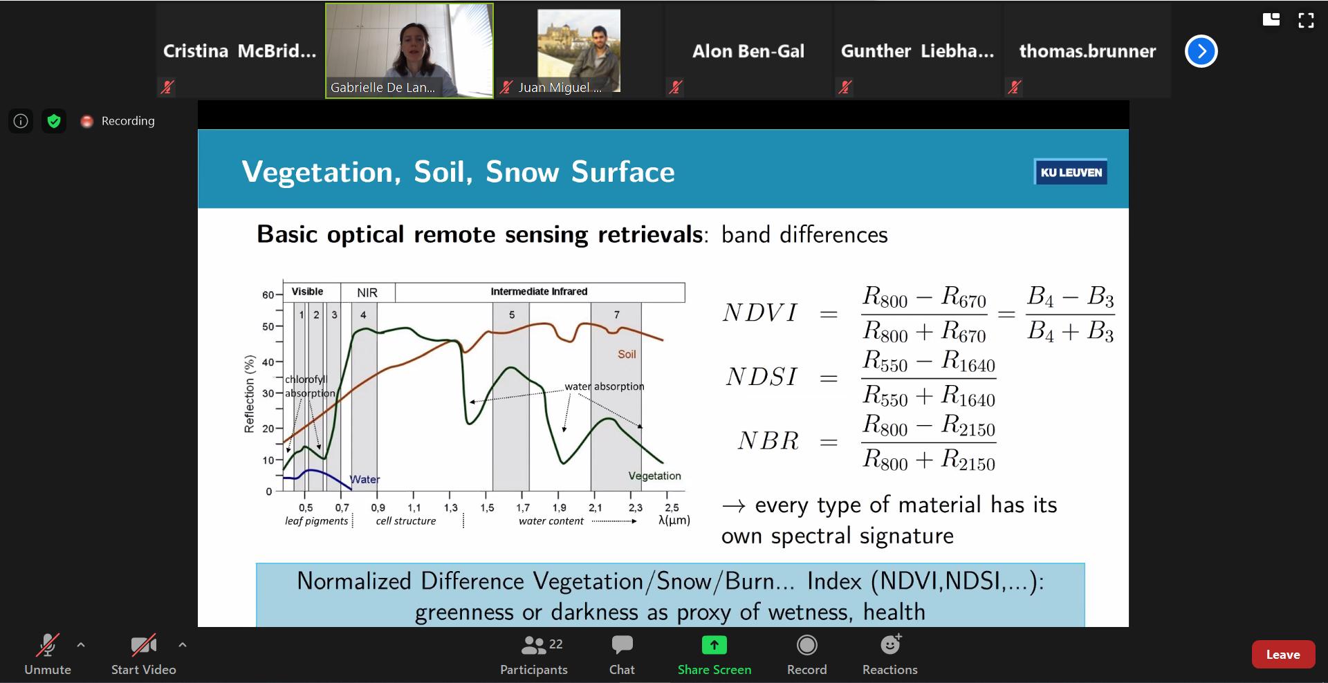 Remote Sensing and GIS Workshop