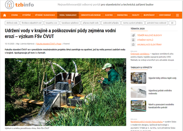 SHui in Czech News Outlets