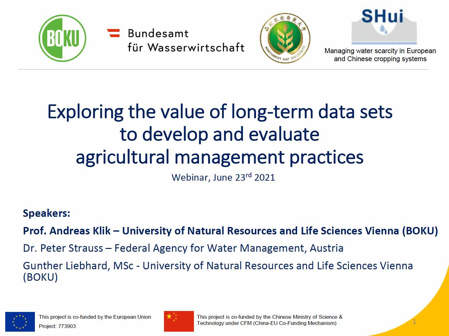 Exploring the value of long-term data sets to develop and evaluate agricultural management practices