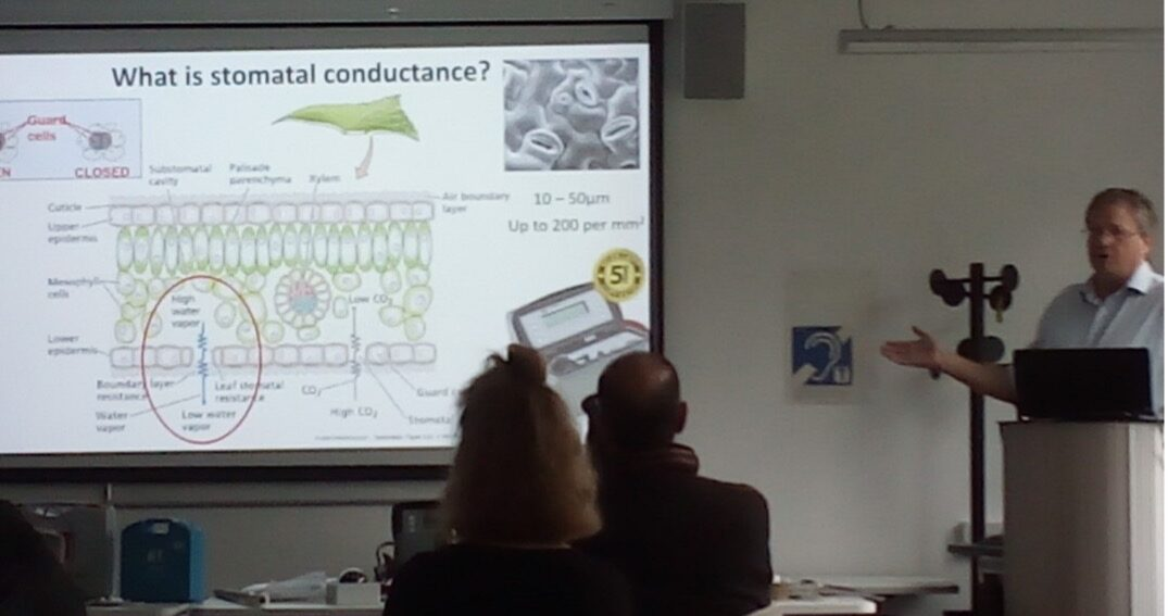 Delta-T Workshop: covering the theory and practice of measuring soil and plant water status