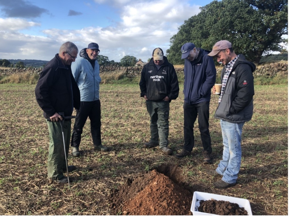 Catch and Cover Crops ON FARM DISCUSSION AND DEMONSTRATION AT LANCASTER